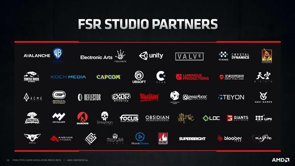 AMD FSR技术性能实测 支持软件